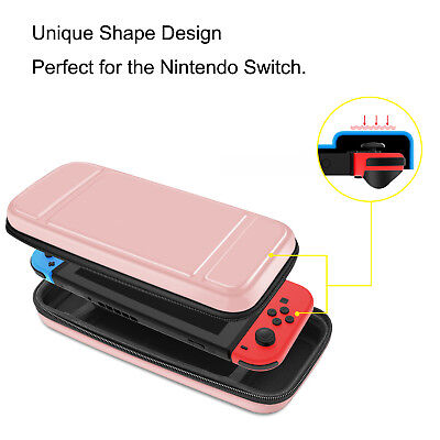 For Nintendo Switch Carry Case Portable Travel Bag Pouch Protective Hard Shell