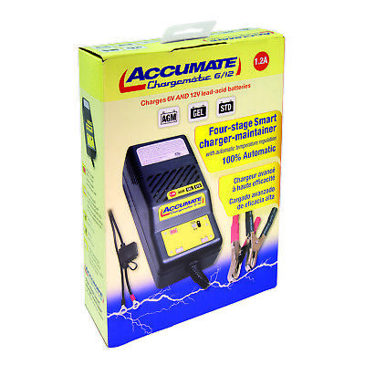 ACCUMATE 6 Volt & 12 Volt Classic Car Automatic Battery Charger, Latest Model 4