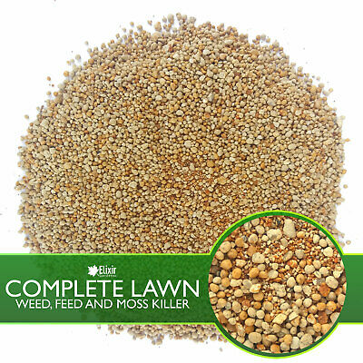 Elixir Gardens | COMPLETE LAWN | 4 in 1 Weed and Feed | 10- 2- 2 + 8 Fe | 10kg 3