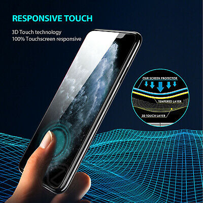 iPhone 11 Pro Max X XS Max XR ZUSLAB Tempered Glass Screen Protector for Apple 4