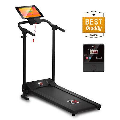 Ym Tapis Roulant Elettrico Pieghevole 2,5 Hp Picco Supporto Tablet E Smartphone 3