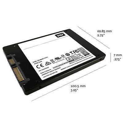 """SSD 2.5"""" WD Green Blue 120GB 250GB 500GB 1TB 2TB SATA Internal Solid State Drive 7"""