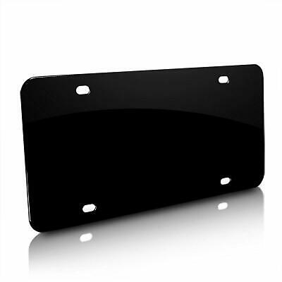 BLACK PERSONALIZED CUSTOM ALUMINUM LICENSE PLATE Car Tag (Your Name & Color)) 3