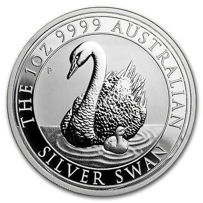 2018 Australia 1 oz Silver Swan MS-70 NGC (ER) - SKU#166784 2
