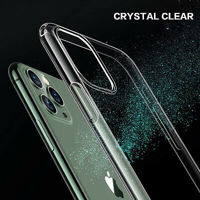 iPhone 11 Pro Max X XS MAX XR iPhone 8 Plus 7 Plus Case Clear Slim Soft Cover 8