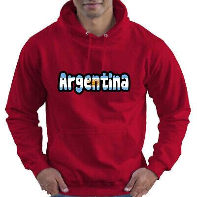 Argentina Flag Love Childrens Childs Kids Boys Girls Hoodie Hooded Top 9