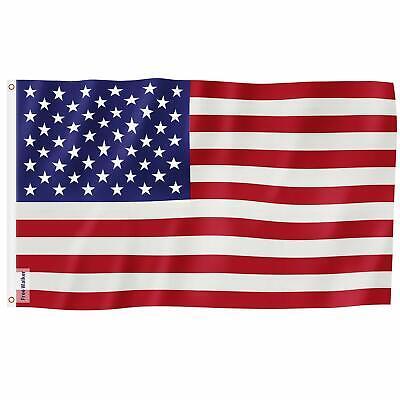 3x5 ft US American Flag Heavy Duty Nylon Print Stars Sewn Stripes Grommets 4