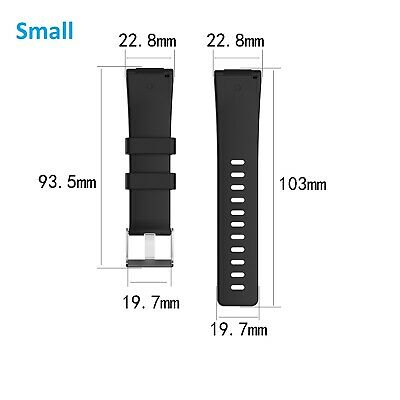 For Fitbit Versa / Versa Lite Replacement Band Silicone Strap Wristband 2