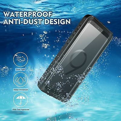 For Samsung Galaxy S9 Plus Case Waterproof Shockproof Fre with Screen Protector 3