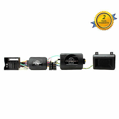 Eonon Joying Car Stereo Stalk Control Adaptor for BMW 3 5 Series Mini X3 X5 Z4