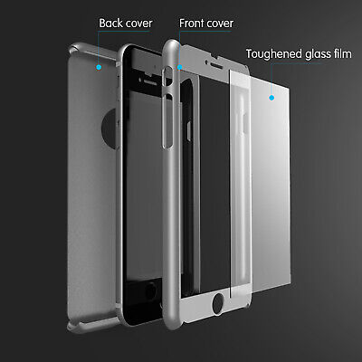 For iPhone 11 6s 7 8 5s Plus XR XS Case Shockproof360 Bumper Hybrid Phone Cover 2