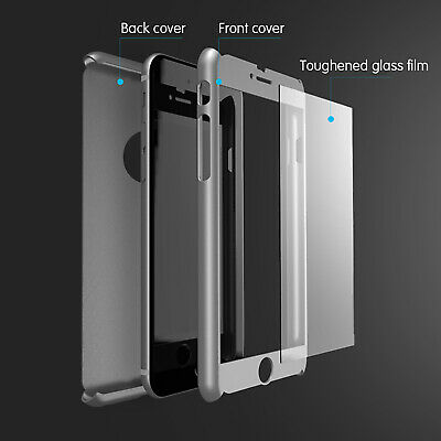 For iPhone XR XS Max 6s 7 8 5s Plus Case Shockproof360 Bumper Hybrid Phone Cover 2