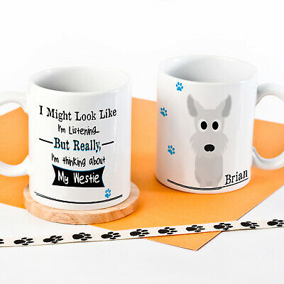 Personalised Dog Mug Funny Pet Cup Birthday Gift All Breeds 11