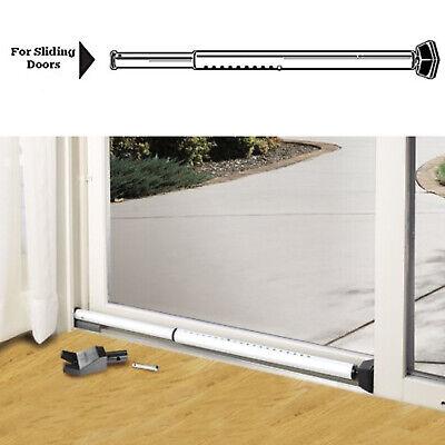 Security Patio Door Brace Adjustable Home Hotel Dorm Safety Lock