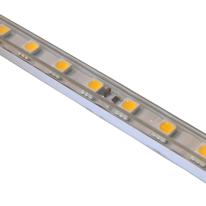 230V LED Strip dimmbar AN/AUS SMD Lichtleiste Lichtband Licht Schlauch Streifen 5