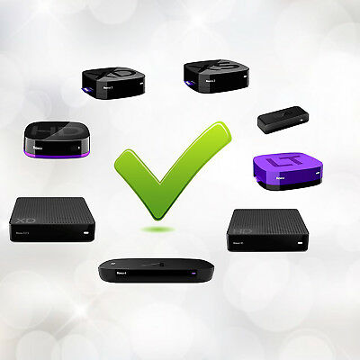 Replaced Remote Control for ROKU 1 2 3 4 LT HD XD XS Player with 4 Shortcut Keys 2