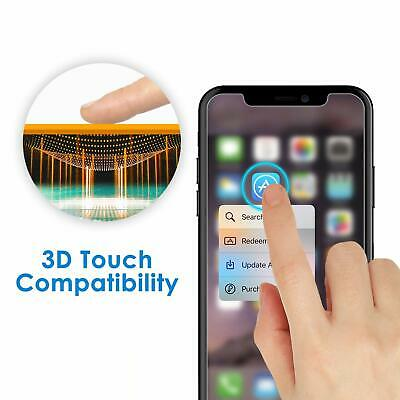 Tempered Glass Screen Protector & Cover For iPhone XS Max XR XS 11 Pro SE 2020 5