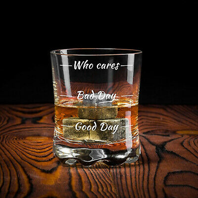 Whiskeyglas Wie war dein Tag? Whiskyglas How was your day? Whiskey Tumbler 3