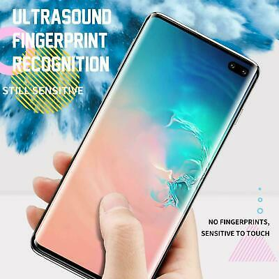 Samsung Galaxy S8 S9 S10 Plus 10e Note 9 10 Full Tempered Glass Screen Protector 4
