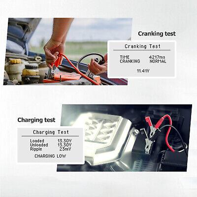 ANCEL BST100 12V 220Ah 2000CCA Battery Load Tester Vehicle Battery Analyzer Tool 5