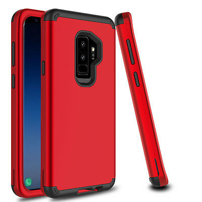 For Samsung Galaxy S9 Plus/S8 Shockproof Hybrid Hard Armor Full Cover Phone Case 6