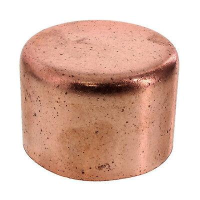 """2"""" Copper Cap Sweat End - COPPER PIPE FITTING"""