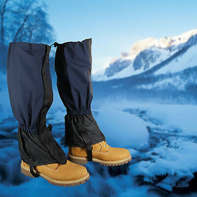 Unisex High Gaiter Rain Boot Shoe Cover for Boating Fishing Skiing Hiking Climb