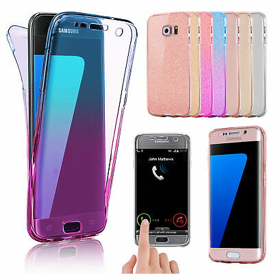 Samsung Galaxy Shockproof 360 Ultra Slim TPU Case Cover For Samsung Galaxy Phone