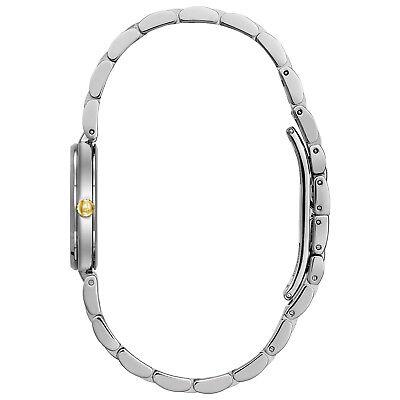 Bulova Classic Women's 98L226 Quartz Mother of Pearl Dial Two-Tone 27mm Watch 3