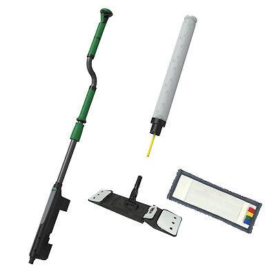 Unger FAKT7 erGO! Clean Bodenreinigungs-Set Taschenmopp 40 cm S-Teleskopstiel 3