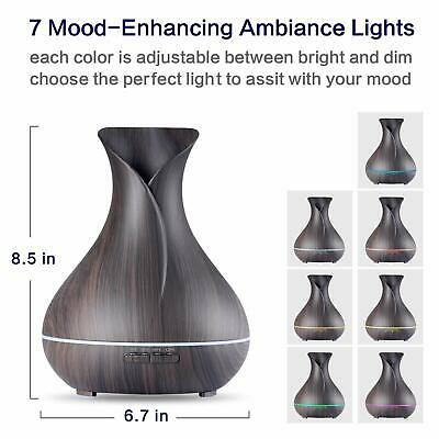 LED Ultrasonic Essential Oil Aroma Diffuser Aromatherapy Air Humidifier AU Stock 6