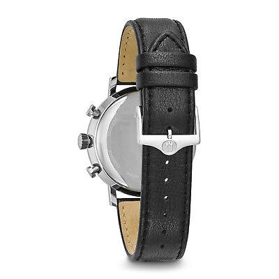 Bulova Classic Men's 96B262 Quartz Chronograph Black Leather Strap 41mm Watch 3