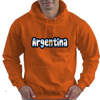 Argentina Flag Love Childrens Childs Kids Boys Girls Hoodie Hooded Top 7