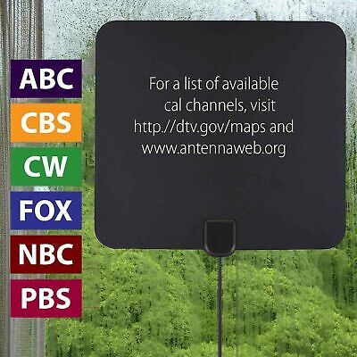 980 Mile Range Antenna TV Digital HD Skywire 4K Antena HDTV 1080P Amplifier Fox 5