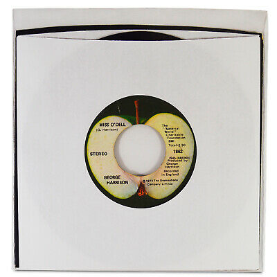 """(100) 45 rpm Record Sleeves 7"""" Vinyl Outer Poly Sleeve Covers 3 MIL Thickness 7"""