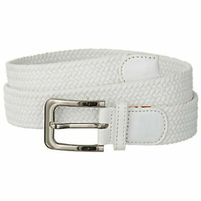 """Premium Men's Braided Stretch Belts - Comfortable Golf Belt 1.5"""" New Without Tag 4"""