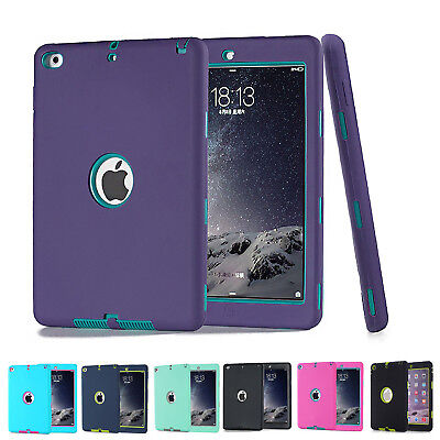 """Heavy Duty Shockproof Case Cover For New iPad 6th Gen 9.7"""" iPad 4 3 2 mini Air 2"""