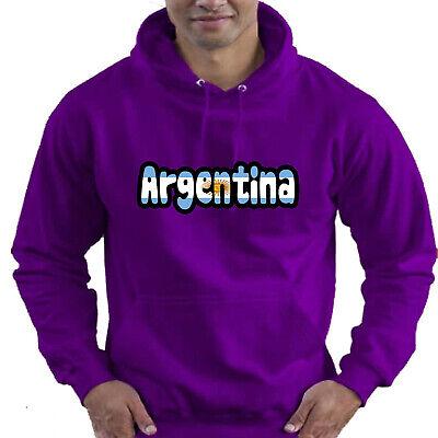 Argentina Flag Love Childrens Childs Kids Boys Girls Hoodie Hooded Top 8