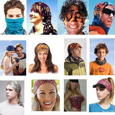 1 Face Mask Sun Shield Neck Gaiter Balaclava Neckerchief Bandana Headband SPF40 5