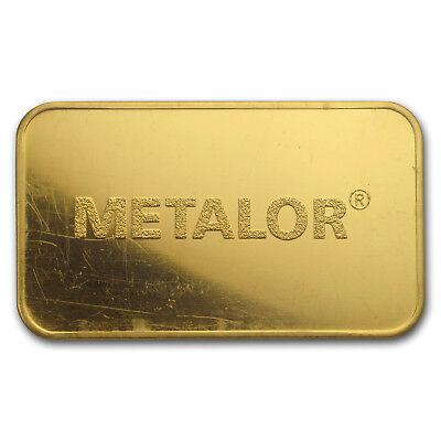 1 oz Gold Bar - Metalor (In Assay) - SKU#166446 4