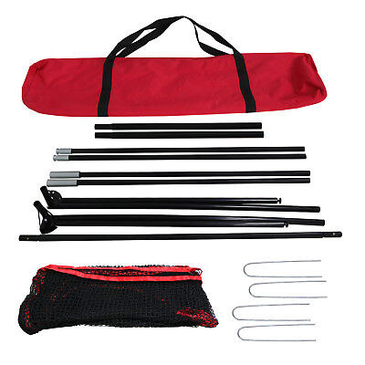 10 x 7FT Portable Golf Hitting Practice Net Driving Training Aids w/ Carry Bag 3