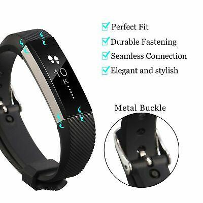 Wristband For Fitbit Alta HR Ace Secure Fitness Bracelet Strap Watch Wrist Bands 9