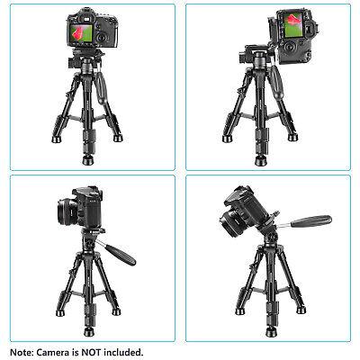 Neewer Mini Travel Tabletop Camera Tripod 24 inches with 3-Way Swivel Pan Head 5