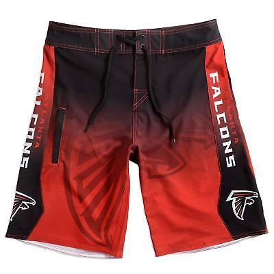 a34e40a9 NFL MEN'S TEAM Logo Gradient Swim/Lounge Board Shorts/Trunks - Pick Team:  S-XXL
