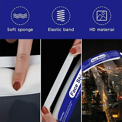 Reusable Face Shield Anti-dust, Anti-droplets, Anti-fog, Protection - multi pack 5