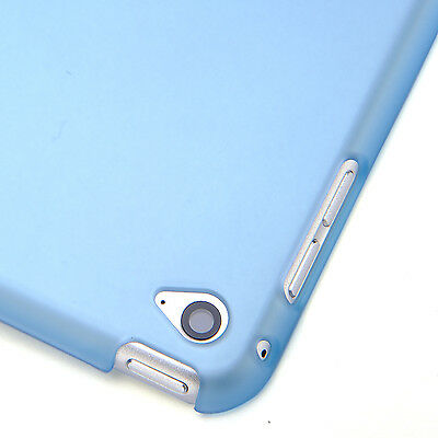 Smart Cover and Hard Back Case for Apple iPad 6th Gen iPad 5 4 3 2 mini Air 6