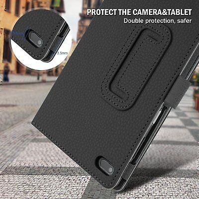 For Lenovo Tab E7 E8 Folding Stand PU Leather Business Heavy Duty Case Cover 8