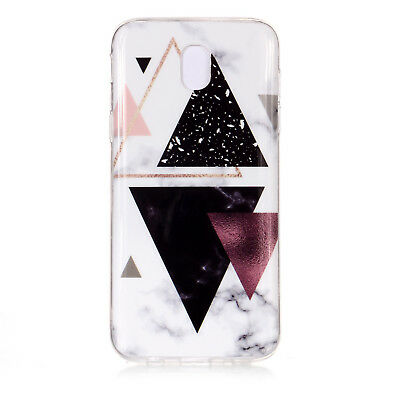 Hybrid Soft TPU Silicone Marble Pattern Case Cover For Samsung Galaxy J3 J5 J7 4