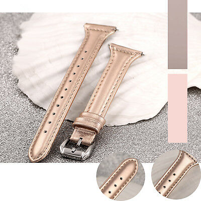 Fasion Slim Leather Watch Wrist Band Bracelet for Fitbit Versa Women man 5