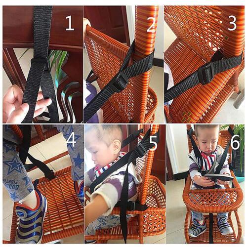 1x 5-point Baby Kid harness strollers highchair Pram Buggy car safely Belt C0W9
